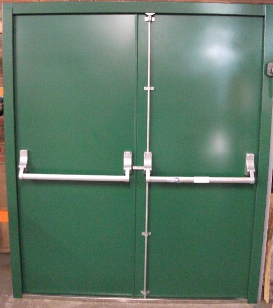 Fire Exit Door : Fire exit doors rated steel